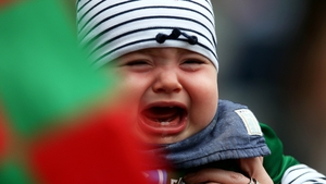Which didn't impress this young Mayo fan