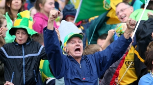 But these Kerry fans won't mind the trip after watching their side claim a late draw