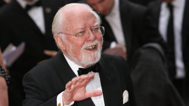 British Prime Minister David Cameron said Richard Attenborough was 'one of the greats of cinema'
