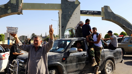 Islamist fighters take over airport in Libya