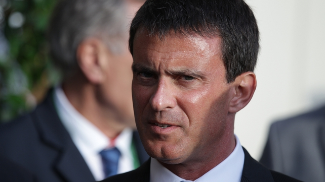 Manuel Valls offered the resignation of his government this morning