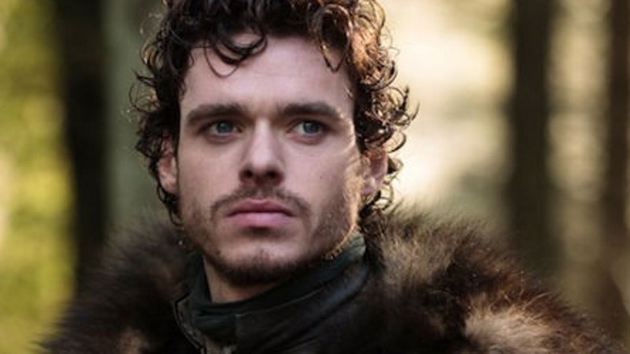 Richard Madden as Robb Stark in  Game of Thrones. He will play Mellors in a BBC 1 adaptation of Lady Chatterley's Lover.