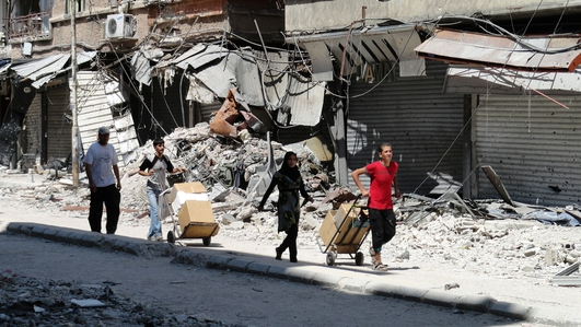 IS militants commit 'mass atrocities' in Syria