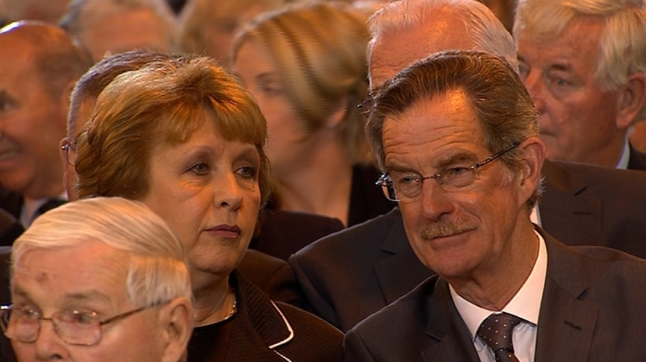 Former president Mary McAleese and former Tánaiste Dick Spring