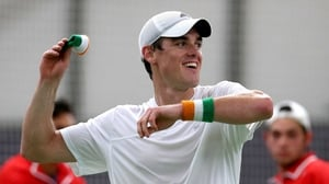 James McGee just missed out on a place in the first round of this year's Australian Open