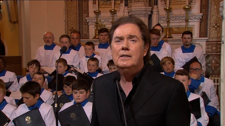 Singer Red Hurley sang at the funeral
