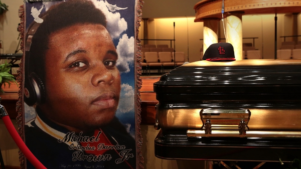 Teenager Michael Brown was shot on 9 August