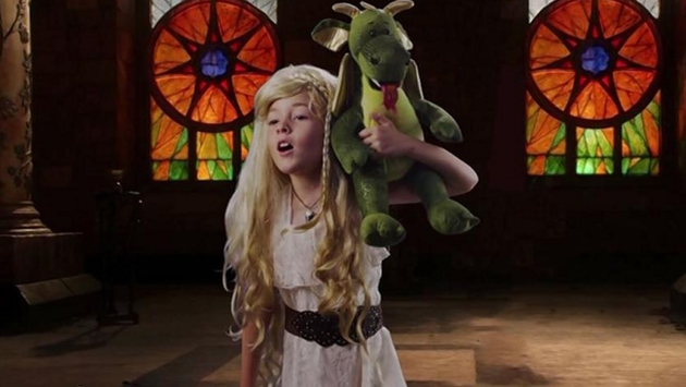 Kids re-enact Emmy-nominated TV shows