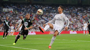 Ronaldo helped Real to victory