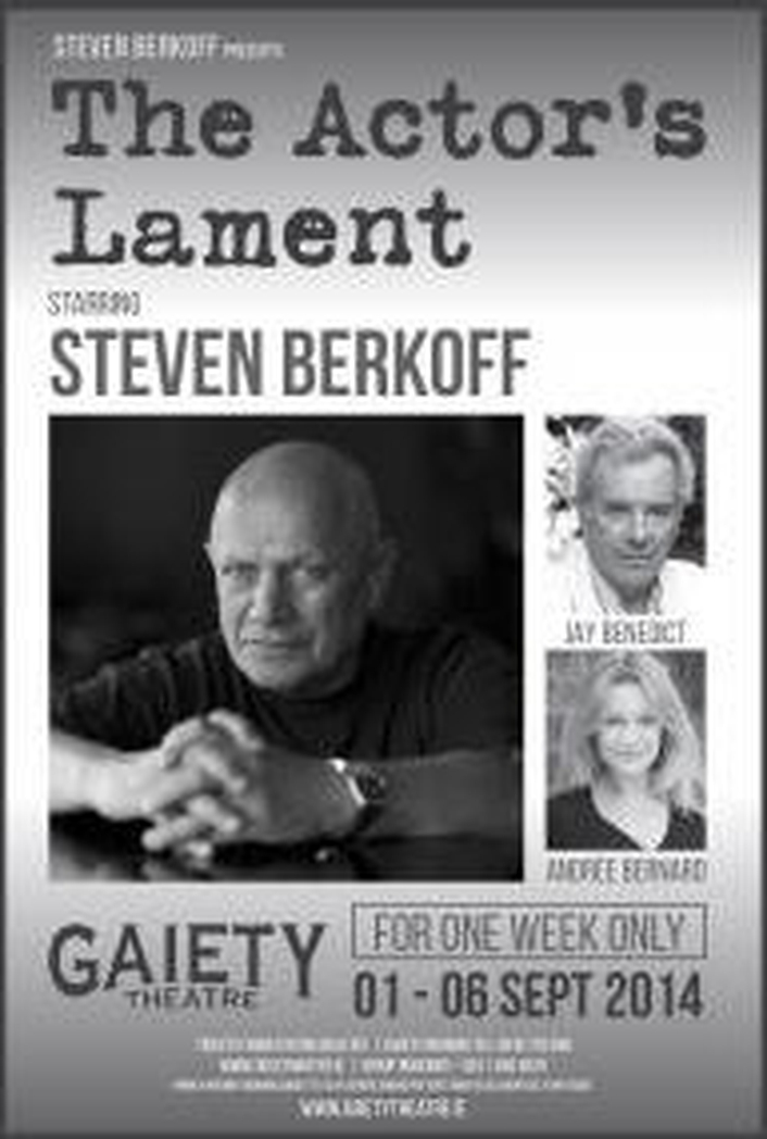 """Theatre review: """"The Actor's Lament"""""""
