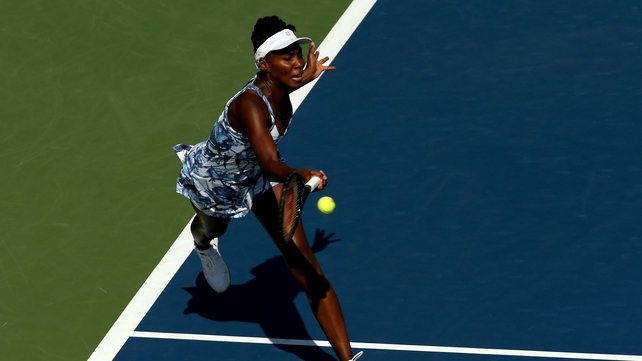 Venus Williams saw off Kimiko Date-Krumm