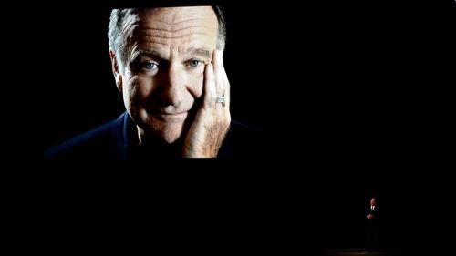 The late Robin Williams