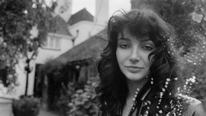Kate Bush has eight albums in the UK official Albums Chart