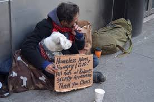 Inner City Helping the Homeless
