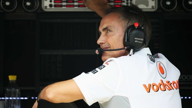 Martin Whitmarsh has been team principal since 2009