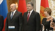 Ukrainian president calls for reinforced border with Russia