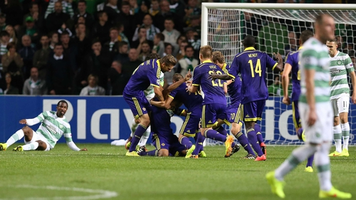 A poor Celtic side have crashed out of the Champions League