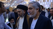 Afghan presidential candidate Abdullah Abdullah (R) is now refusing to participate in the audit