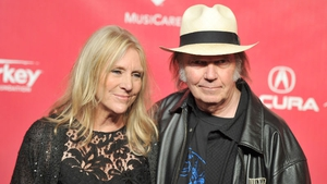 Pegi and Neil Young