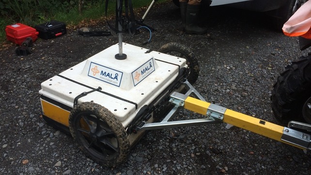Ground-penetrating radar equipment is to map a five-acre area not previously analysed