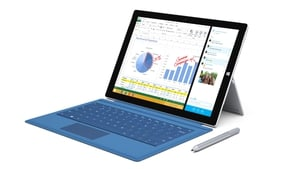 Microsoft has pitched the Surface Pro 3 as a laptop replacement more than a tablet