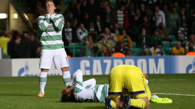Celtic missed out on the lucrative group stages of the Champions League