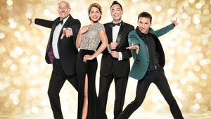 Craig Revel Horwood (centre) with his fellow SCD judges