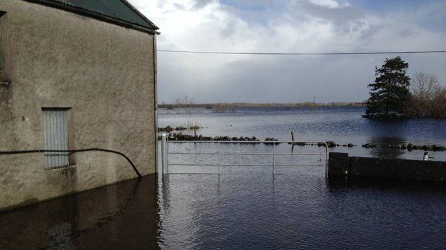 Flooding in south Galway