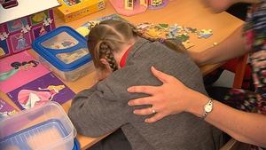 60 children started school today at Divine Word National School in Dublin's Rathfarnham