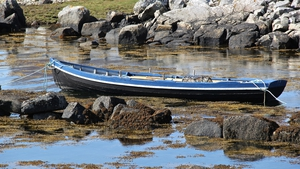 Boot moored on Inishnee, Roundstone (Pic: David J. Sanfey)
