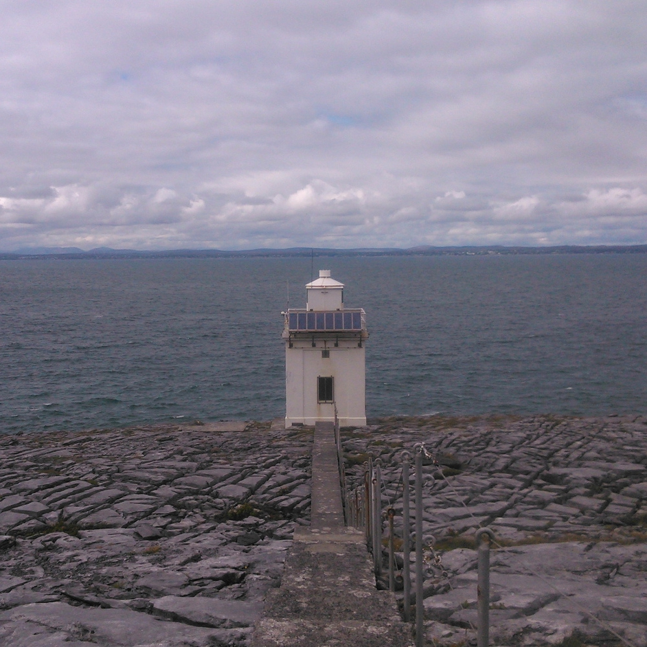 Karl Duff sent in this image of Black Head Lighthouse in Co Clare