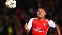 Alex Oxlade-Chamberlain talks to RTÉ Sport after Arsenal's win over Besiktas