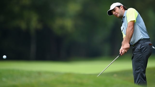 Francesco Molinari shares the lead at the Italian Open