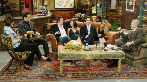 The Central Perk café played a key role in the smash-hit show