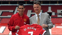 Manchester United manager Louis van Gaal says Angel Di Maria is a team player