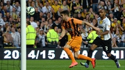 Ireland international Robbie Brady gave Hull the lead in the sixth minute