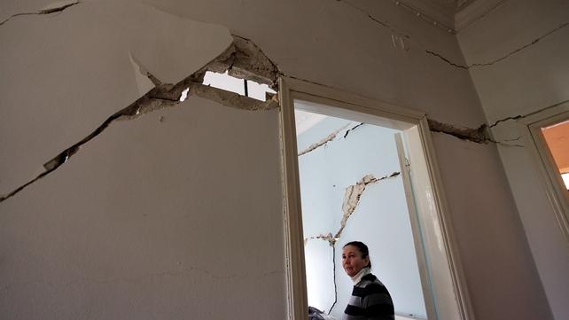 An earthquake struck the Greek Ionian island of Cephalonia in January