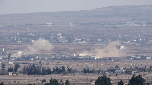 Stand-off on the Golan Heights
