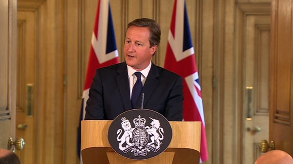 David Cameron said legislation would be introduced so it was easier to seize jihadists' passports