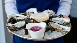 Cliff Townhouse on Dublin's St Stephens Green hosting Oyster Festival