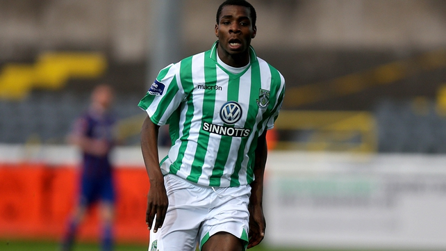 Ismahil Akinade put Bray ahead in the 11th minute