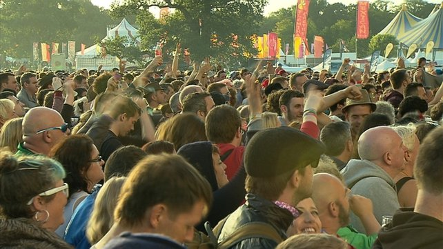 Tens of thousands of people are in Stradbally for this year's music and arts festival