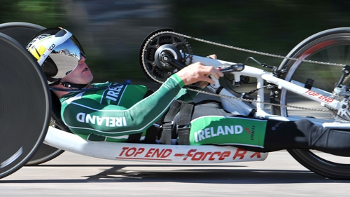 Mark Rohan came home third in Greenville