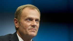 Donald Tusk said the remaining EU leaders are determined to keep their unity