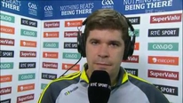 Kerry manager Eamonn fitzmaurice on the composure shown by his side after their extra-time win over Mayo