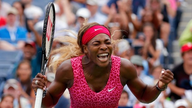 Serena Williams plays Kaia Kanepi in the next round
