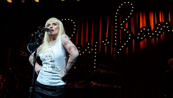 """Debbie Harry: """"Penn introduced me to him. I'm not tall enough. He likes tall women. He likes big women."""""""
