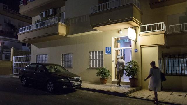 The Hostal Esperanza hostel in Benajarafe, Malaga, in which Ashya King was located
