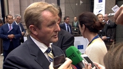 Enda Kenny said the mood of the EU meeting was one of solidarity with Ukraine