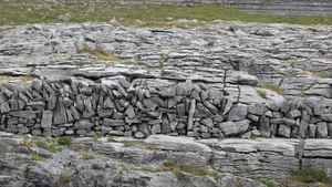 David J. Sanfey sent this image of a carefully erected stone wall in the Burren